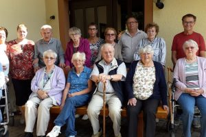 Ruhebank für Seniorenkreis